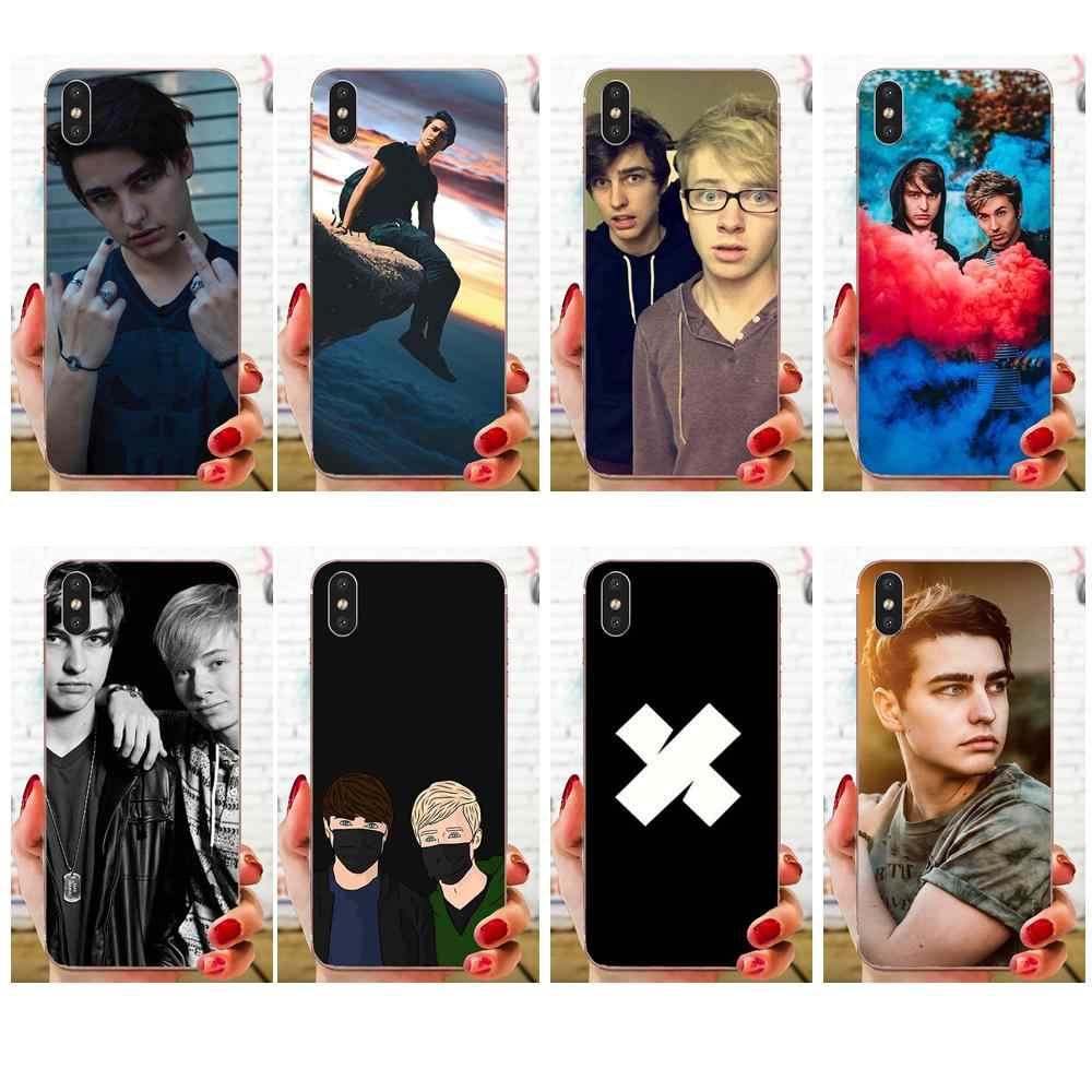 For LG K50 Q6 Q7 Q8 Q60 X Power 2 3 Nexus 5 5X V10 V20 V30 V40 Q Stylus Lovely Phone Case Sam And Colby