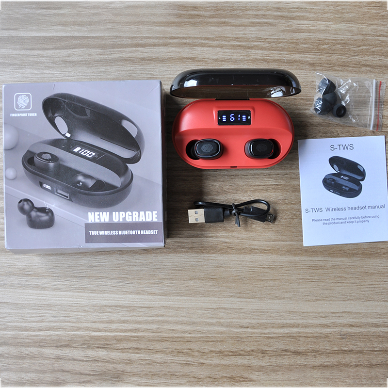 XEWG 2020 New Wireless Earphone Earbuds HIFI Stereo IPX7 Waterproof HD Call Touch Mini In-ear Sports Bluetooth 5.0 Headphones