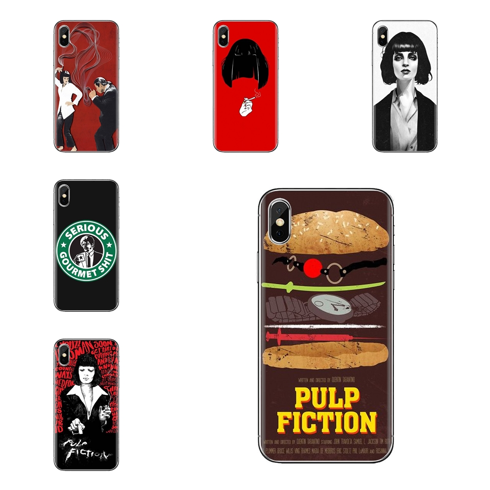 Pulp Fiction Mia Wallace 3 iphone case
