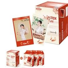 Fujifilm Instax מיני סרט סיני פסטיבל מתנה חבילה עבור פוג י מיידי תמונה מצלמה מיני 9 8 7s 7c 70 90 25 הלו קיטי SP 1 SP 2