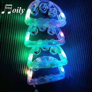 Image 5 - Hand Held Knippert Tamboerijn Led Lights Party Bar Bell Speelgoed Rammelaar Kid Lichtgevende Kinderen Tamboerijn Muziekinstrumenten Geen Batterij