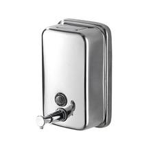 Bottle Soap-Dispenser Kitchen 304-Stainless-Steel Soap-Box Toilet Hand-Sanitizer Hotel