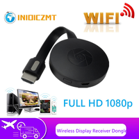 1080P wireless WiFi display dongle TV stick adattatore video Airplay DLNA schermo mirroring condivisione per iPhone Android phone to TV