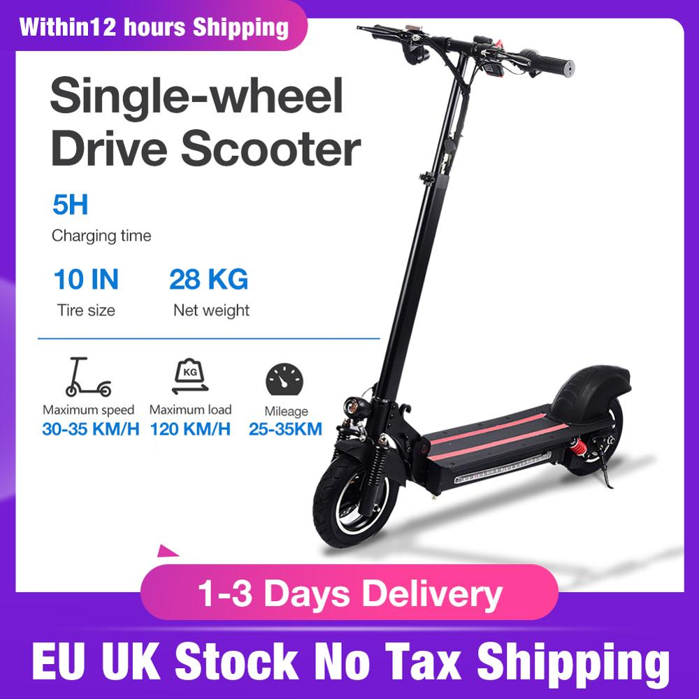 10 Inch Double wheel Drive Electric Scooter Adult Folding Speed Electric Scooter 45 60KM/H EU UK Stock No Tax Shipping|Electromobile|   - AliExpress