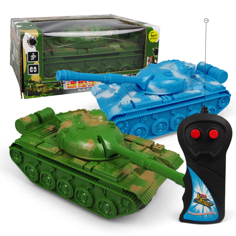 New Style Small Model Remote Control Tank SMV Wireless Control Children Military Model Toy Car Stall Hot Selling