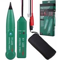 Professionelle Linie detektor AIMOmeter MS6812 LAN Netzwerk Kabel Tester Telefon Draht Tracker Tracer mit AVD06 Spannung Detektor-in Leistungsschalter-Finder aus Werkzeug bei