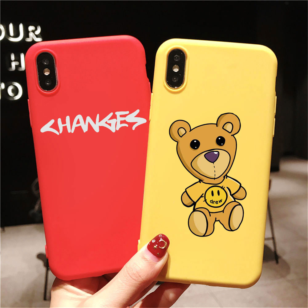 Cute Justin Bieber drew house phone Case For iphone 11 pro max 6s 8 7 Plus 5s X XS MAX TPU Silicone Case for iphone XR Case