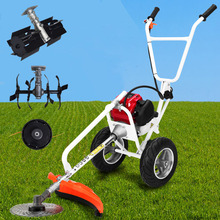 Brush-Cutter Tiller GX35 Grass 4-Stroke Nylon-Head 2-Wheels with Mini And 4-In1 Hand-Push
