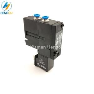 Image 5 - 1 Piece new solenoid valve FESTO MEBH 4/2 QS 4 SA M2.184.1111/05 for offset SM102 CD102 SM52 PM52 machine