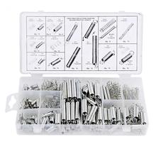 200pcs/Box Extension Spring Tension Pressure Compression Springs Assortment Set Spring Metal Kit Assorted кровати box spring