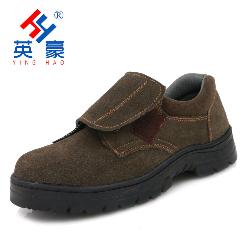 Manufacturers Wholesale Hero Low Top Electric Welding Shoes ai bang Large Covered Fire Prevention Flower Welder Safety Shoes Hig