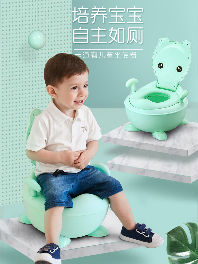 Large Size Infant Child Baby Kids Pedestal Pan Small Chamber Pot Boys And Girls Seat Toilet Bucket CHILDREN'S Urinal