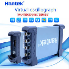 Hantek Usb Oscilloscopio Kit 4CH Canali Analogici 1GSa/S 70 Mhz 100 Mhz 200 Mhz 250 Mhz Oscilloscopio per Pc supporto Winows 7 8 10(China)