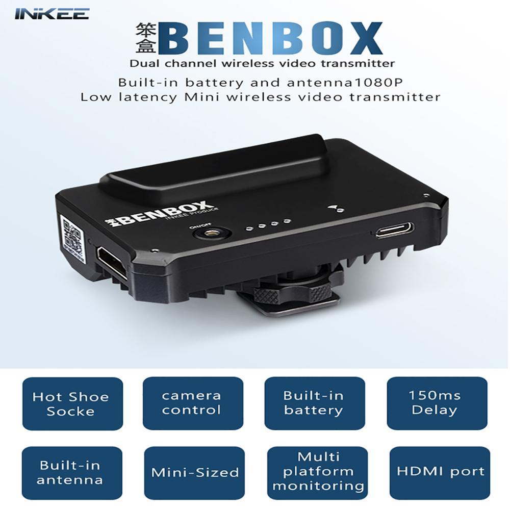Двухканальный беспроводной передатчик BENBOX 1080P Mini HDMI, устройство передачи видео, передатчик для IOS, iPhone, Andriod, телефонов, iPad