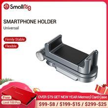 SmallRig Soporte Universal para teléfono inteligente, para Iphone X/XS, accesorios de Vlogging, montaje de abrazadera para teléfono móvil con soporte para zapata fría 2415
