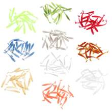 16 шт мягкие приманки для рыбалки пластиковые блесна весло хвост