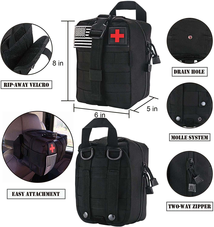 ifak bolsa de emergencia primeiros socorros kits 05