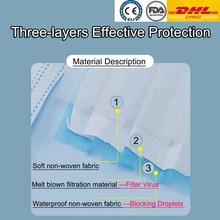 Disposable laye Face Mask Flu DHL Masques Anti Virus Pm2.5 Filter respirator Kids surgical Masks CE FDA Kn95 N95 Ffp2  < Ffp3