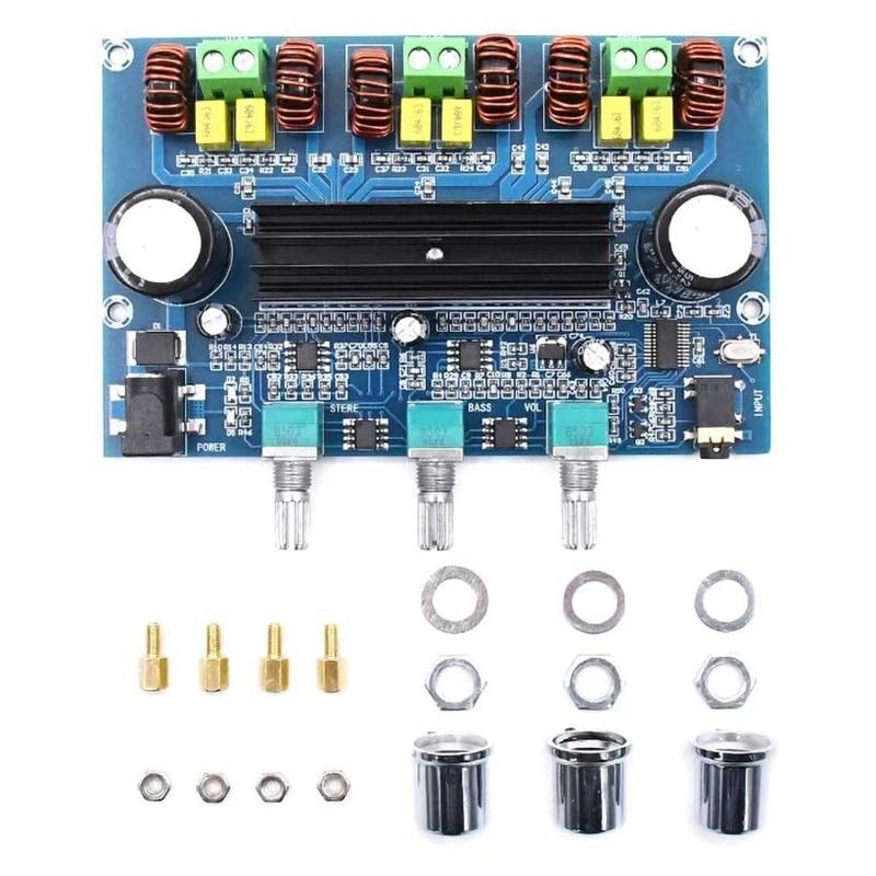 TPA3116 Digital Power Amplifier Board 2.1Channel Stereo Class D Home Speaker Bluetooth 5.0 Audio Receiver Amplifiers