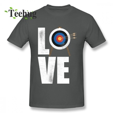 Latest Archery Distressed Design Love Tee Shirt Boy Funny Unique For Pure Cotton T Fashionable Top design