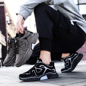 Image 5 - الرجال حذاء كاجوال Krasovki الذكور عالية الجودة المدربين أحذية رياضية الرجال تنيس Masculino بلينغ أحذية الرجال Zapatos دي Hombre Scarpe Uomo