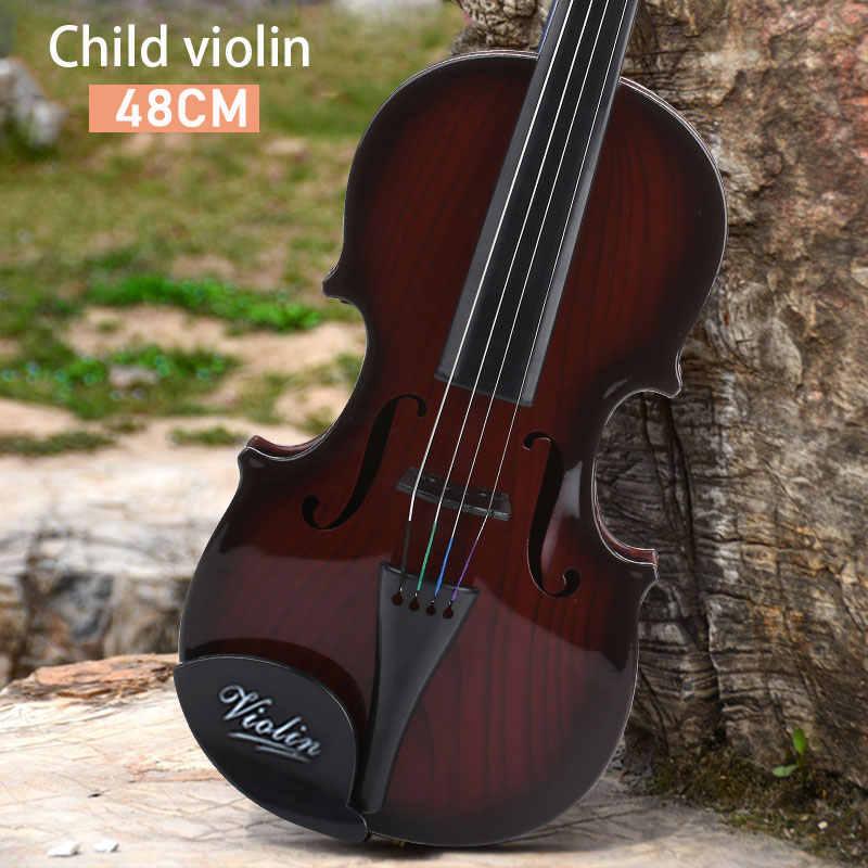 Игра раннего образования детская скрипка Украшения 48 см ABS музыкальные игрушки
