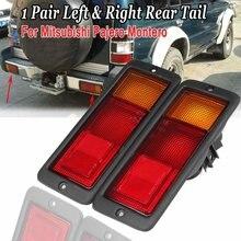 Luz trasera de coche para Mitsubishi Pajero y Montero, lámpara halógena, MB124963 MB124964 214-1946L-UE 2141946RUE, 2 uds.