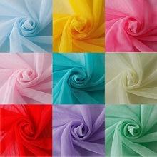 160cm*10meters/lot Soft Tulle 36A Gauze Mosquito Net Gauze Fabric Tulle Mesh Fabric for Wedding dress pettiskirt tutu net frabic