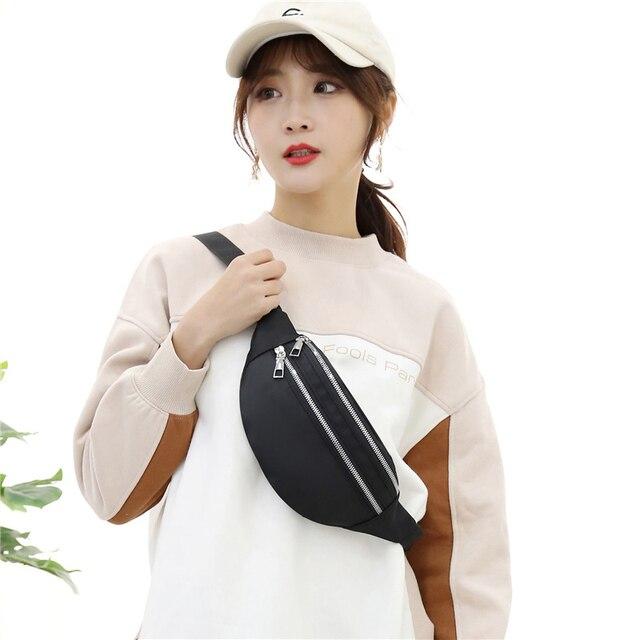 2021 New  For Women Waterproof  Waist Bags Ladies Fashion Bum Bag Travel Crossbody Chest Bags Unisex Hip Bag 2