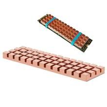 Радиатор из чистой меди теплоотвод теплопроводящий клей для