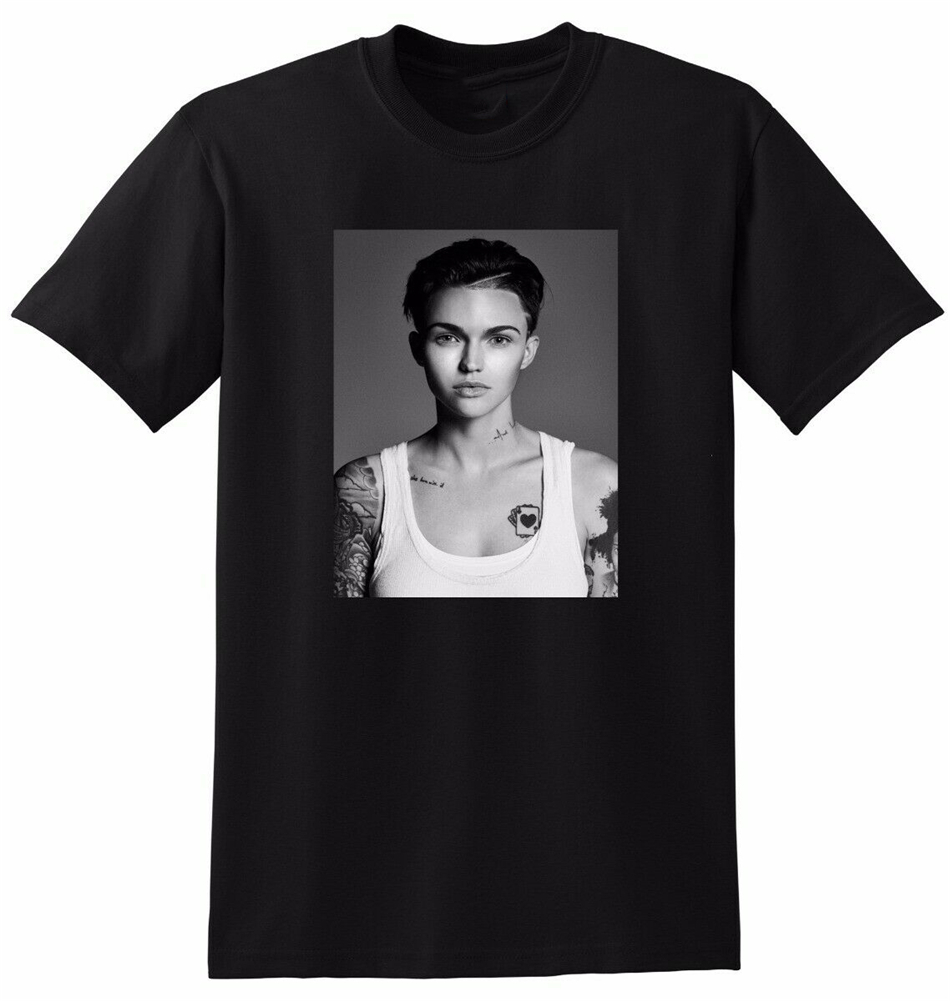 RUBY ROSE T Shirt Photo Poster SMALL MEDIUM LARGE Or XL Printed Plus Size Tee Shirt