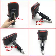 Sac étanche Support de téléphone pour Moto vélo vélo guidon Support Moto montage cartes fentes pour HONDA F5 CBR650F VFR1200