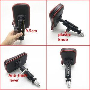Image 1 - Sac étanche Support de téléphone pour Moto vélo vélo guidon Support Moto montage cartes fentes pour HONDA F5 CBR650F VFR1200