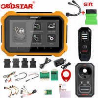 OBDSTAR X300 DP Plus X300DP Auto Schlüssel Programmierer Pin Code Entfernungsmesser-korrektur EEPROM für Toyota Smart Key Mit P001 Programmierer