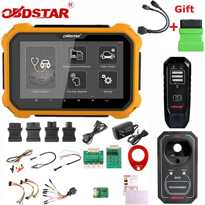 OBDSTAR X300 DP Plus X300DP programmeur de clé automatique Code à broches odomètre Correction EEPROM pour Toyota clé intelligente avec programmeur P001