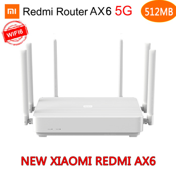 Xiaomi Redmi AX6 Router Gigabit 2.4G 5.0GHz Dual-Band 2402Mbps Wireless Router Wifi6 With 6 High Gain Antennas MI Wider Router