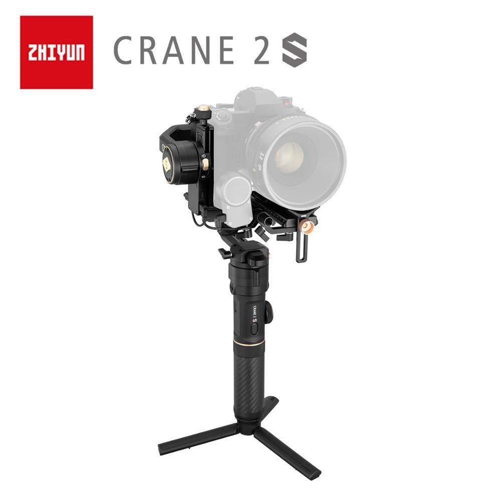 ZHIYUN Offizielle Kran 2S/COMBO/PRO Gimbals 3-Achse Kameras Handheld Stabilisator für DSLR Sony Canon BMPCC 4K 6K Kamera VS DJI