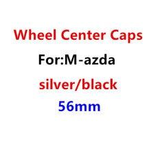 4 pçs 56mm centro da roda do carro tampa emblema à prova de poeira cobre emblema etiqueta do carro acessórios de estilo