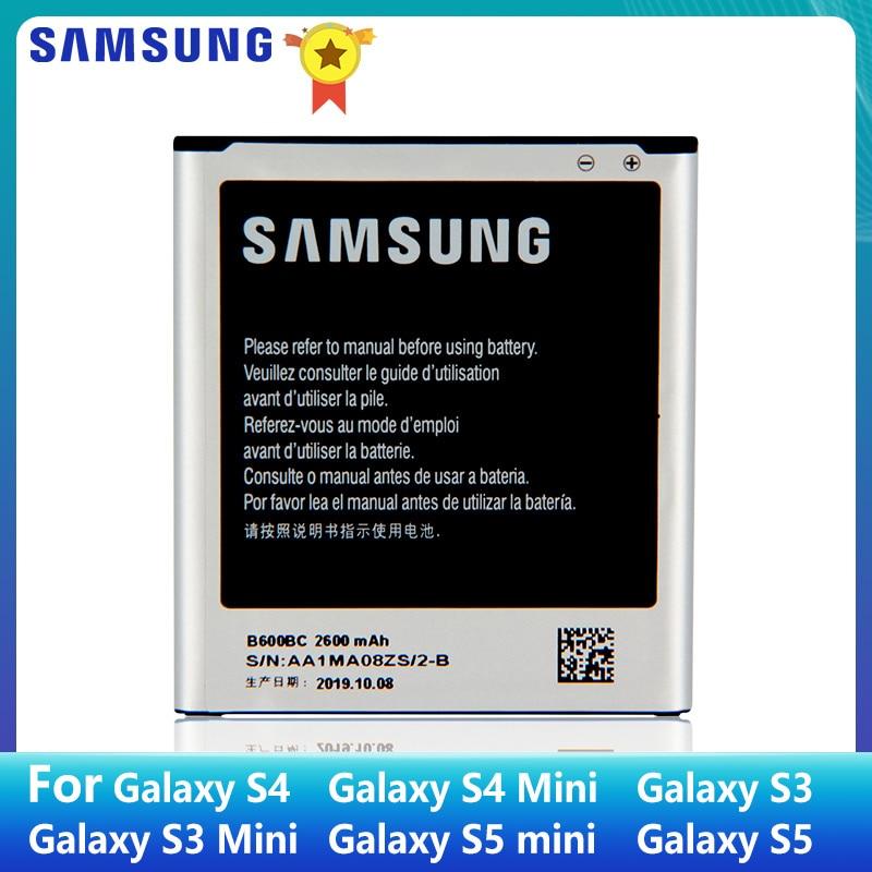 SAMSUNG Original Battery B600BC B600BE B600BK B600BU For Samsung GALAXY S4 I9500 S3 S3 MINI B500BE S4 MINI S5 S5MINI EB-BG800CBE