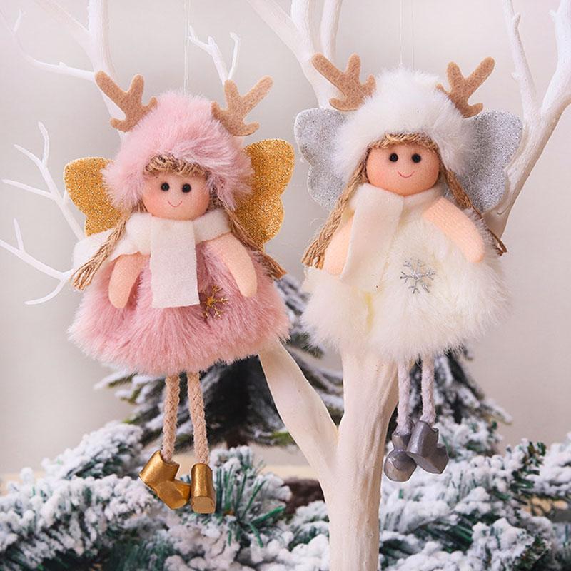 2020 New Year Gift Cute Christmas Angel Doll Xmas Tree Ornament Noel Deco Christmas Decoration for Home Natal Navidad 2019 Decor 14