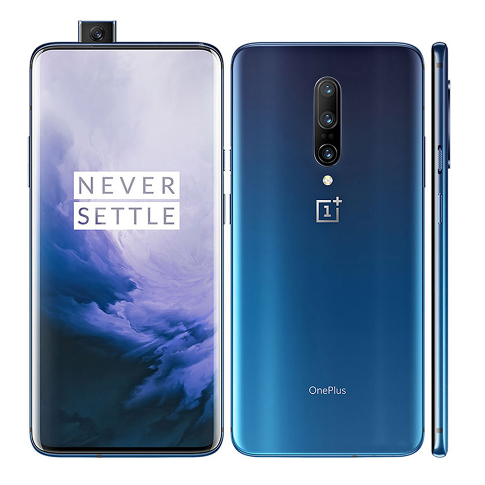 Oneplus 7 pro global rom 4g smartphone 256 gb snapdragon 855 48mp câmera 6.67 fluid fluid fluid amoled 2 k resolução ufs 3.0 triplo câmera