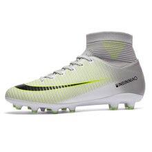 Футбольная обувь мужские футбольные бутсы для подростков Высокие
