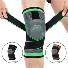 цена на 1PC Non-Slip Support Knee Brace Compression Nylon Knee Sleeve Sports Pad Running Basketball Fitness Cycling Tennis Support Knee