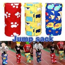 Красочный печатный мешок для прыжков игры на открытом воздухе спортивные игры для детей детский мешок картошки гоночные сумки кенгуру мешок для прыжков BF88