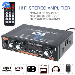 Image 4 - G30 Digital Home Amplifier Bluetooth HIFI Stereo Subwoofer Music Player Support FM TF AUX 2 Channel with Remote Control