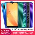 Mate30 Pro 6,26 дюймовых смартфонов 4G Оперативная память 64G Встроенная память 4 ядра сотовый телефон мобильный телефон Android 13MP Камера уход за кожей ...