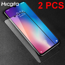 2 Pcs Tempered Glass For Xiaomi Mi 9 SE 9T CC9 CC9e Mi 8 Lite Mi 6X 5X Mi 6 Screen Protector Glass For Xiaomi Mi 9T Pro Film