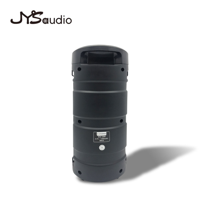 Outdoor Wireless Bluetooth Speaker Portable audio Column Subwoofer Stereo 1200mAh Battery Support FM Radio TF AUX USB 3