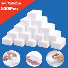10x6x2 centímetros Esponja Esponja Mágica do Eliminador Da Melamina 20/50/100pcs Branco Esponjas de Limpeza para Cozinha Casa de Banho Acessórios Cleaner