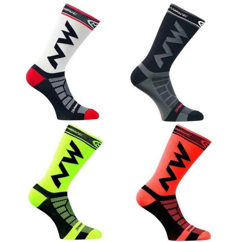 Super hombres/mujeres calcetines deportivos montar en bicicleta baloncesto Running calcetín deportivo verano senderismo tenis esquí hombre mujeres bicicleta deslizamiento